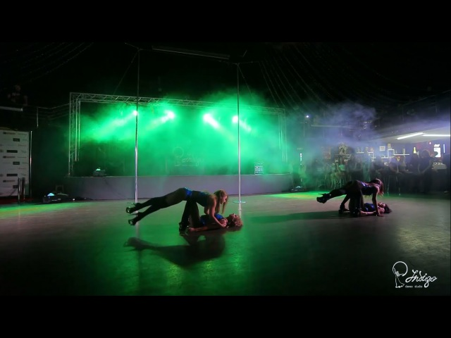 Стрип-пластика, хореограф Люся Лазебная! Indigo Dance Studio Отчетный концерт 2015