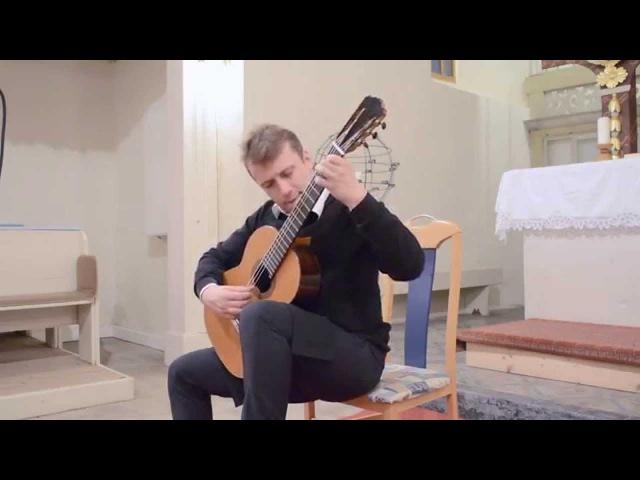 Sanel Redzic plays ALLEMANDA BWV 1002 by Johann Sebastian Bach