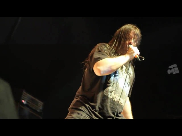 Cannibal Corpse - Scalding Hail (Santana Hall Sao Paulo-SP Brazil 21th Feb. 2010)