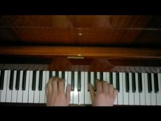 Великолепный век на пианино- Тема Балибея и Айбиге