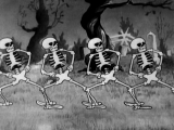 Танец скелетов (The Skeleton Dance, Walt Disney, 1929)