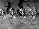Танец скелетов (The Skeleton Dance, Walt Disney, 1929)