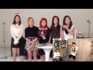 Red velvet reaction to bts j-hope dancing to ice cream cake