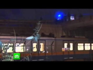 Камера наблюдения сняла взрыв в Стамбуле