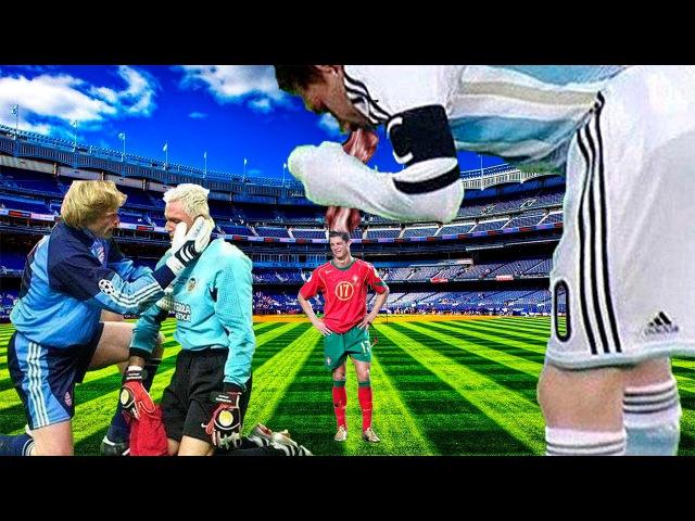 Малоизвестные факты о футболистах! (Мать Канисареса, плач Роналду, 1 гол Жереми Жано, Месси стошнило , 23 гола Роналдиньо)