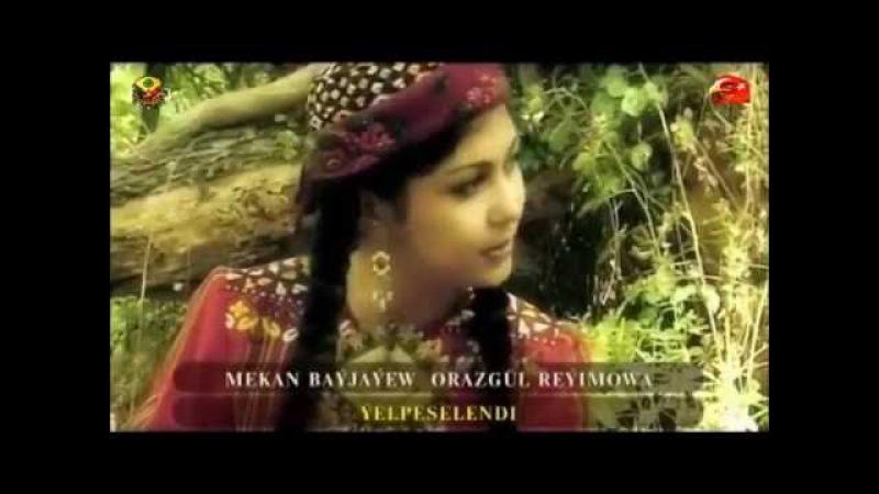 Mekan Bayjayew ft. Orazgul Reyimowa (Türkmenistan) - Yelpeselendi 480p (Türkçe Altyazılı)