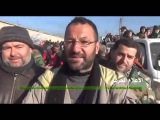 Радость жители городов Нубль и Аз-Захра, расблокированных САА после 4-х лет блокады ИГИЛ