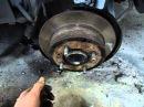 Замена тормозных колодок стояночного тормоза на Mitsubishi Galant 8 by RK Zver