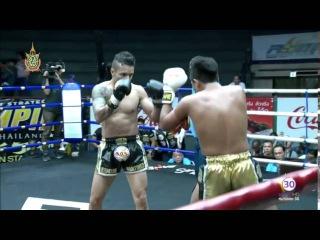 Best of Siam 8 - Pume Aunsukhumvit ( Thailand ) Vs Eddie Martinez ( USA )