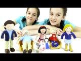 Лучшие подружки Соня и Полина готовят подарок для куклы Алисы. Видео для детей.