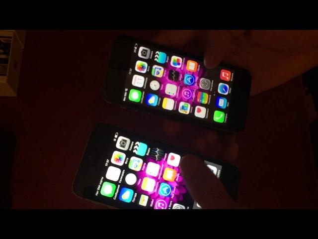 IPhone 5S VS 5S(MTK6572)