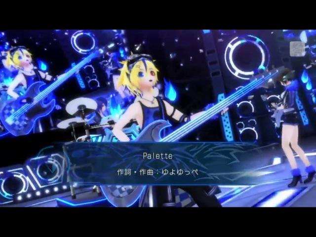 【Project DIVA X】 Cool Medley Cyber Rock Jam Kaito Meiko Len Sub español