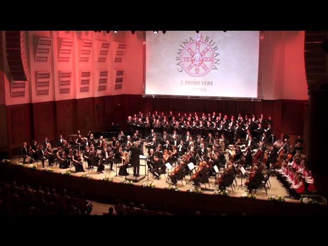 Carl Orff Carmina Burana Novosibirsk Philharmonic Gintaras Rinkevicius