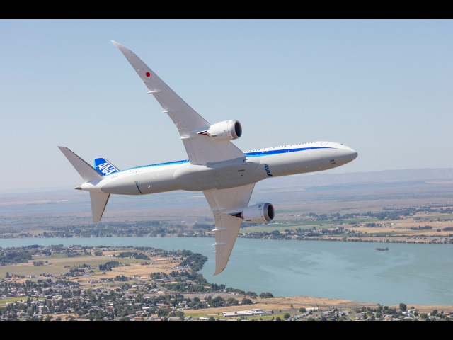 Amazing! The Beauty of Boeing's 787-9 Dreamliner on Display