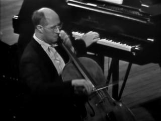 М. Ростропович, С. Рихтер - Л. Бетховен, Соната для виолончели и фортепиано №1 фа мажор op. 5 №1
