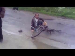 Манжос лятит на Трясогубовку ЖЕСТЬ ШОК СКОРОСТЬ 120КМ!!!