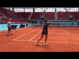 Ana practices in Madrid (28.04.16)