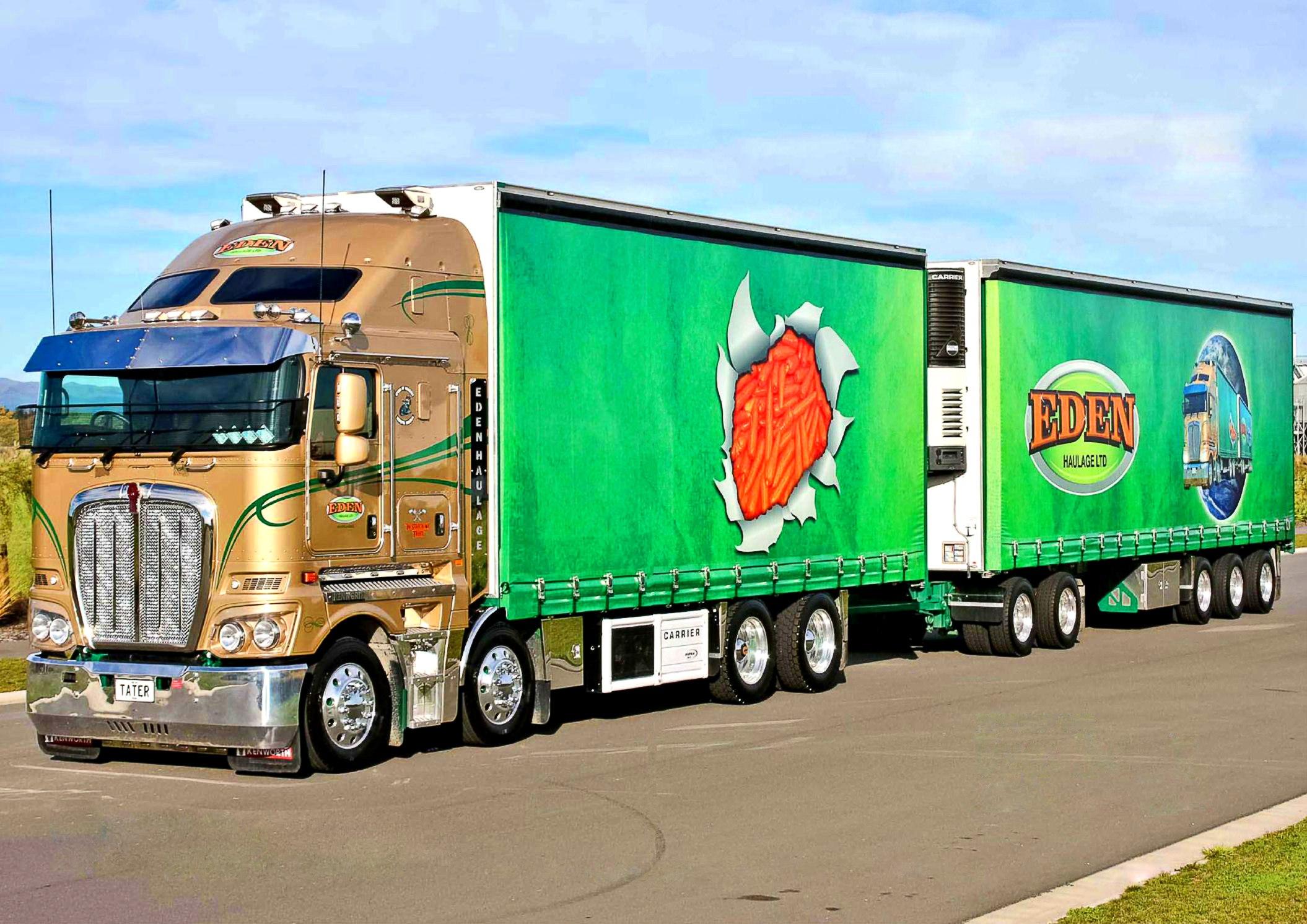 красивый юнинг грузовика 2016