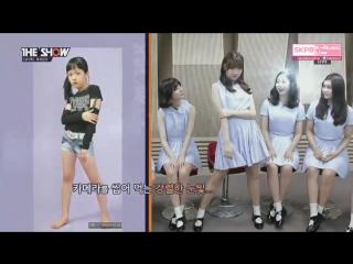 160712 GFRIEND - MV Talk @ The Show