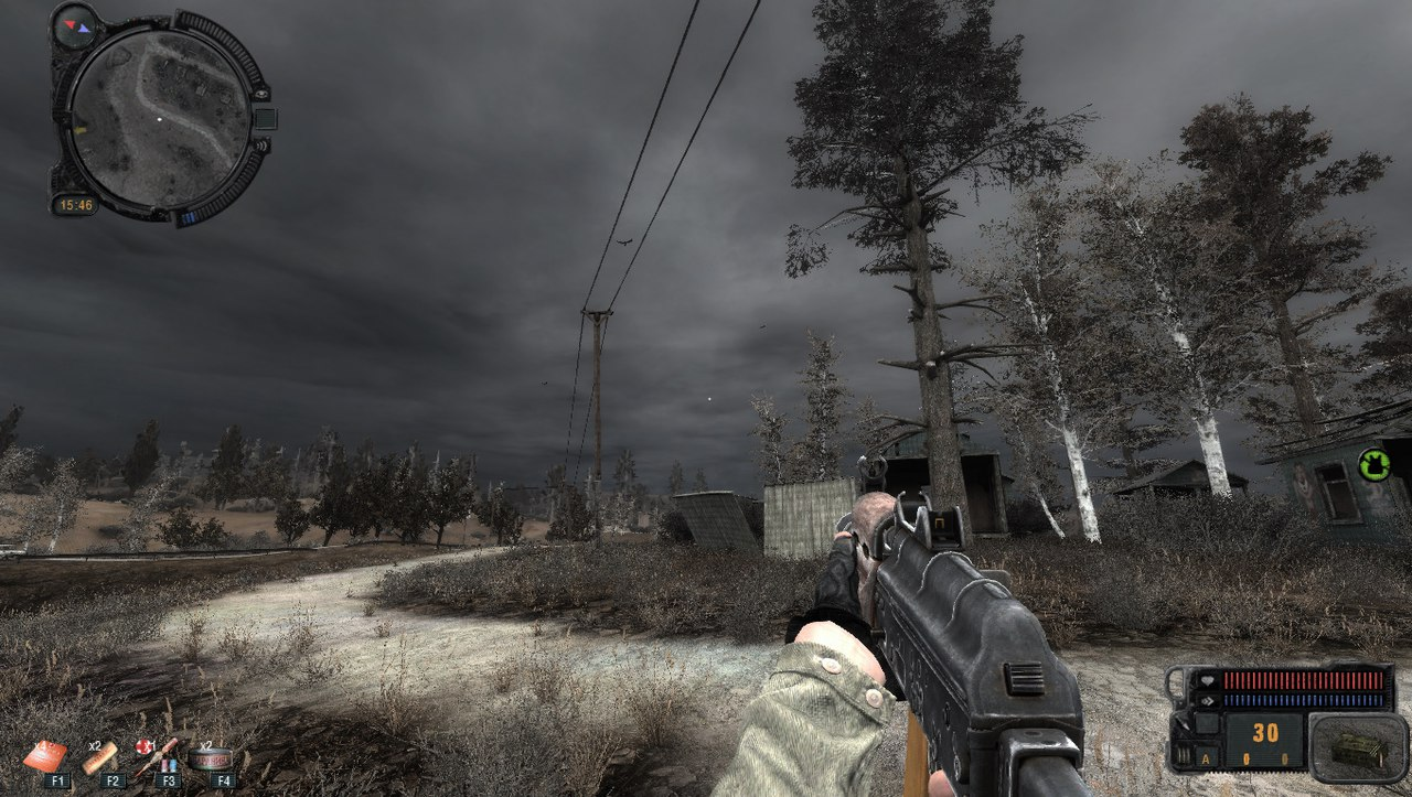 Stalker call of pripyat horror graphics mod v1.0