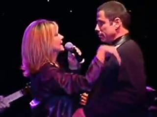 John Travolta e Olivia Newton-John