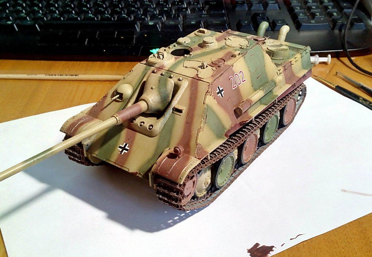 Jagdpanther (Late\поздний вариант) (Tamiya 35203 1/35) IZeaPmqJDPU