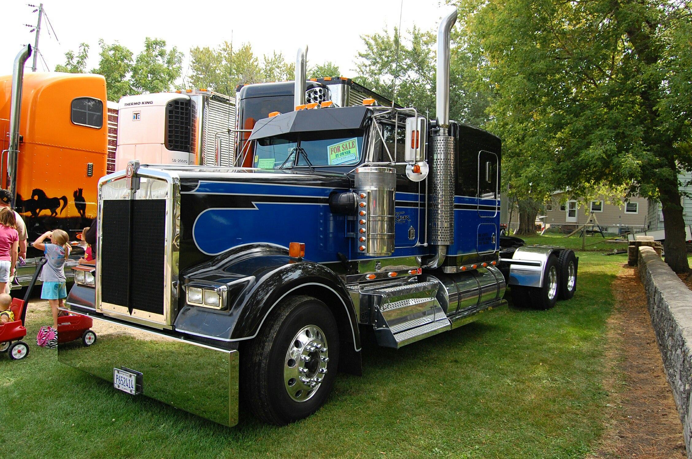 тюнингованный грузовик просто супер 2016