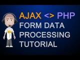 Ajax Tutorial Post to PHP File XMLHttpRequest Object Return Data Javascript