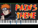 Pain's Theme (Girei) - Naruto Shippūden [Piano Tutorial] (Synthesia)