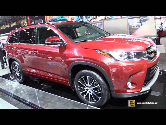 2017 Toyota Highlander SE - Exterior Walkaround - 2016 New York Auto Show