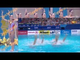 Russian Federation (RUS) Free Team Final Kazan World Championships 2015