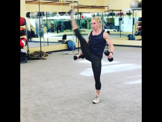 """Jenny Parker Larsen on Instagram: """"It's Tuesday which means time for my JLa kicks class. My own style of cardio kickboxing. Squa"""