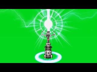 Beacon de Energia #1 - Energy Beacon #1 [Fundo Verde - Green Screen]