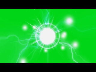 Esferas de Energia #3 - Energy Spheres #3 [Fundo Verde - Green Screen]