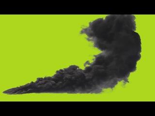 Fumaça Negra #1 - Black Smoke #1 [Fundo Verde - Green Screen]