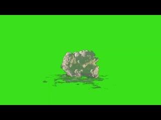 Pack de Explosões #1 - Explosions Pack #1 [Fundo Verde - Green Screen]