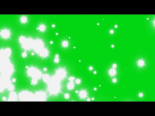 Partículas Brancas #5 - White Particles #5 [Fundo Verde - Green Screen]