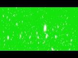 Partículas Brancas #1 - White Particles #1 [Fundo Verde - Green Screen]