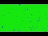 Partículas Azuis #1 - Blue Particles #1 [Fundo Verde - Green Screen]