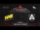 NaVi vs. Alliance [EL CLASICO] - Game 1, Groupstage @ TI6, Dota 2