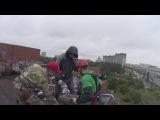 Егор на стуле (тест) на Универе 12.06.2016 Прыжки с командой Земля прыжков