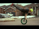 Flatland Unicycling-Winter 2013