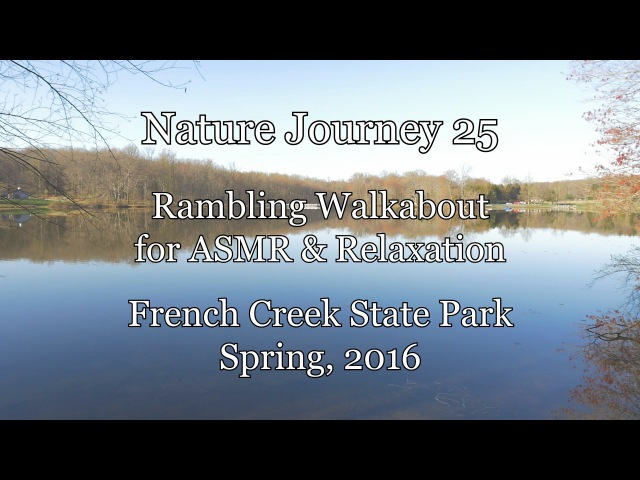 Nature Journey 25 - Binaural Walkabout at French Creek State Park for ASMR Relaxation