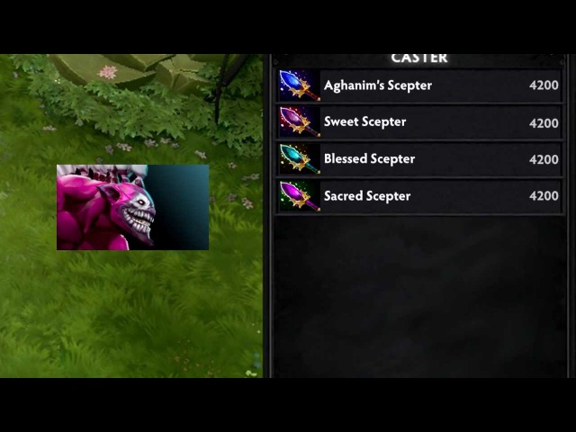 Dota 2 heroes don't know the proper item names.