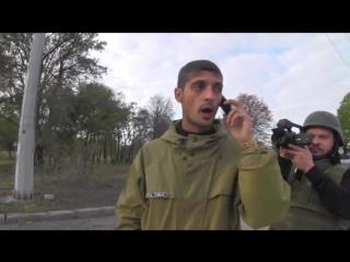 Ополченцы Гиви Абхаз и Моторолла в аэропорту Донецк Часть 1
