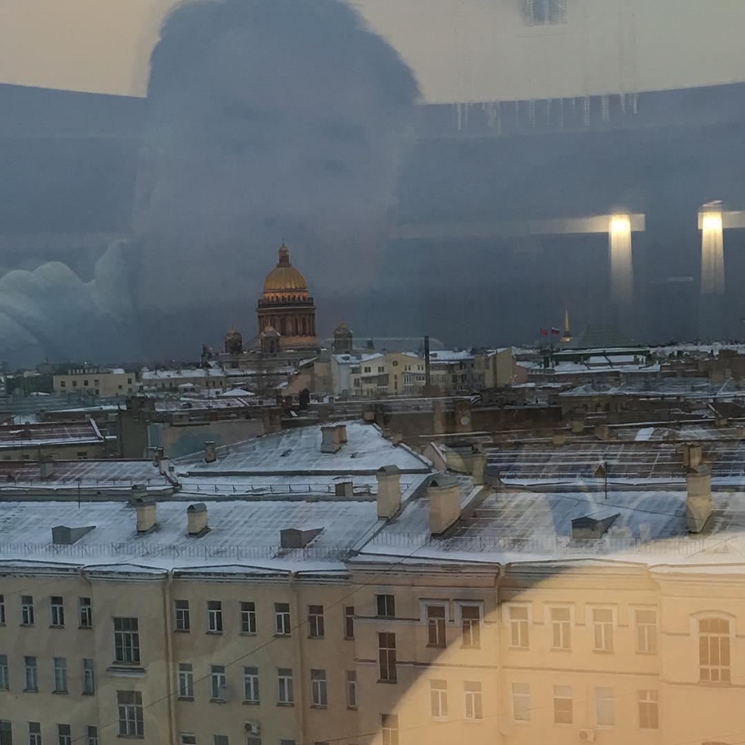 Утром в Питере - скучаю по Москве