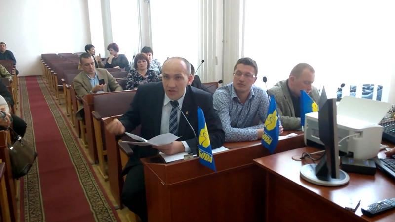 У Вінницькій райраді підтримали ініціативу «Свободи» щодо скасування обмежень у наборі дітей до навчально-виховних комплексів