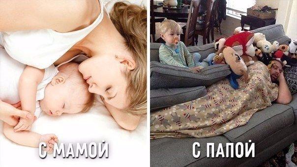 уставшая мама совратила сына
