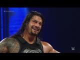 Roman Reigns Randy Orton vs. Bray Wyatt Braun Strowman_ SmackDown, Oct. 8, 2015