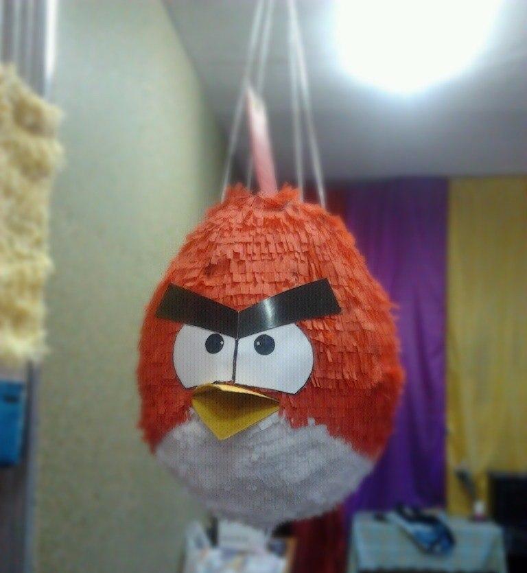 купить пиньяту в стиле Angry Birds ЗАпорожье